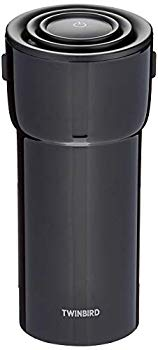 【中古】ツインバード HEPAフィルター付 イオン発生器 AIR BOTTLE ブラック AC-5942B