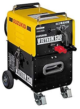 【中古】スズキッド(SUZUKID) 100V専用バッテリー溶接機 ヴィクトロン130 SBV-130