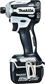 【中古】マキタ インパクトドライバTD161(14.4V)白 トルク175Nm 6Ahバッテリ2本・充電器付 TD161DRGXW