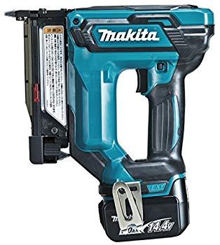 【中古】マキタ(Makita) 充電式ピンタッカ 14.4V 6Ah バッテリ・充電器・ケース付 PT352DRG