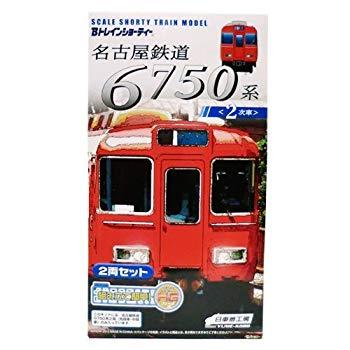 【中古】▽【Bトレインショーティー】名古屋鉄道6750系2次車 2両セット(名鉄)バンダイBトレ120203