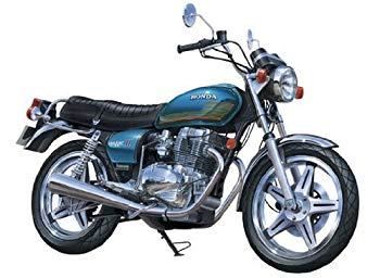 【中古】青島文化教材社 1/12 ネイキッドバイク No.66 Honda ホークII CB400T 1977
