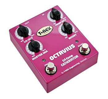 【中古】T-REX OCTAVIUS tri-tone GENERATOR オクターバー ギターエフェクター