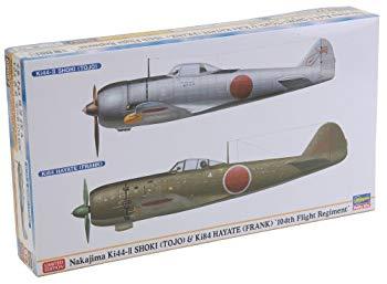 【中古】ハセガワ 1/72 鍾馗II型&疾風 飛行第104戦隊 2機セット
