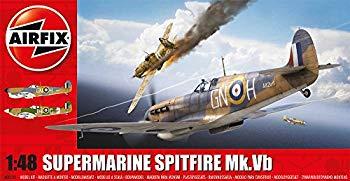 【中古】エアフィックス 1/48 イギリス空軍 スーパーマリン スピットファイアMk.5B プラモデル X5125