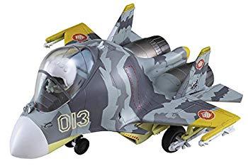 【中古】ハセガワ たまごひこーき Su-33 フランカーD エースコンバット 黄色の131 ノンスケール 全長97mm プラモデル SP351