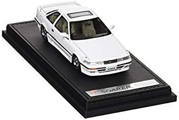 【中古】イグニッションモデル 1/43 トヨタ ソアラ (Z20) 2.0GT-ツインターボ L ホワイト BBホイール 完成品