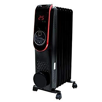 【中古】ROOMMATE LED液晶パネル搭載オイルヒーター HC-A31A(EB)