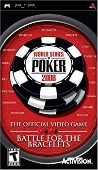 【中古】World Series of Poker 2008 / Game