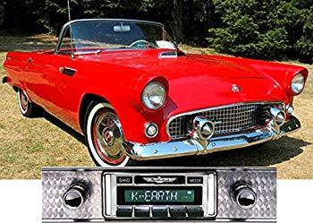 【中古】1955-1957 Ford Thunderbird USA-630 II High Power 300 watt AM FM Car Stereo/Radio with iPod Docking Cable by Custom Autosound