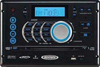 【中古】Jensen AWM968 AM/FM/DVD/CD/USB Bluetooth Stereo by Jensen