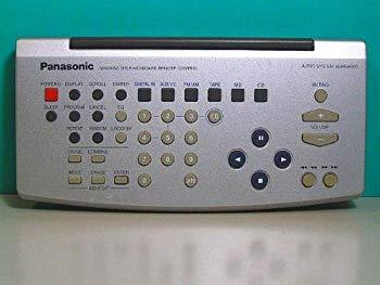【中古】パナソニック オーディオリモコン EUR646900