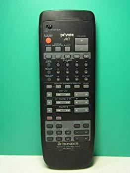 【中古】パイオニア オーディオリモコン CU-SX074