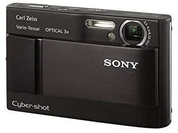 【中古】ソニー SONY デジタルカメラ サイバーショット DSC-T10 ブラック DSC-T10
