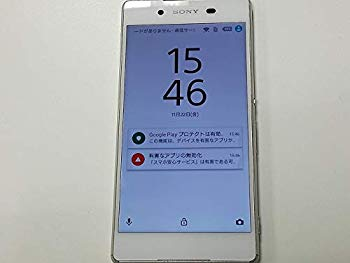 【中古】SONY SoftBank Xperia Z4 402SO White