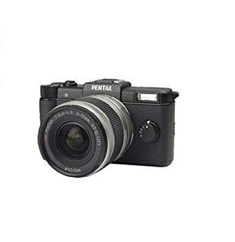 【中古】Pentax Q Black Kit w/ 02 Standard Zoom Lens by Pentax