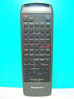 【中古】パナソニック オーディオリモコン RAK-RX505W