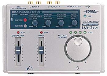 【中古】エディロール UA-3FX USBオーディオ・キャプチャー 24ビット ハイクオリティー