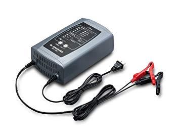 【中古】セルスターバッテリー充電器 DRC-1000 (フロート+サイクル充電)12Vバッテリー専用