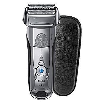 【中古】ブラウン メンズ電気シェーバー シリーズ7 7893s-SP 4カットシステム 水洗い/お風呂剃り可 本革ケース付