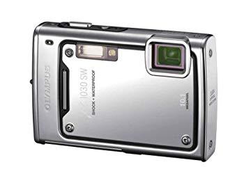 【中古】OLYMPUS 防水デジタルカメラ μ1030SW (ミュー) メタルシルバー μ1030SW SLV