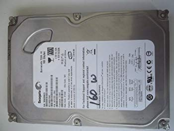 【中古】Seagate Barracuda ST3160815AS 160GB 7200 RPM 8MB Cache SATA 3.0Gb/s Hard Drive