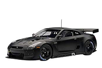 【中古】AUTOart 1/18 日産 GT-R FIA GT1 '10 (マット・ブラック) 完成品