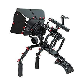 【中古】Camtree Hunt CNC Madeカメラケージあり形プレート( ch-rse-srk ) forショルダーマウントリグ三脚マウントマットボックスフォローフォーカスキッ