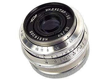 【中古】※オールドレンズ※INDUSTAR-50 50mm/f3.5 Lマウント オーバーホール済