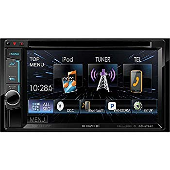 【中古】Kenwood DDX373BT Double Din Monitor In-Dash Bluetooth DVD Receiver by Kenwood