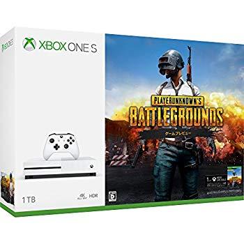 【中古】Xbox One S 1TB PlayerUnknown's Battlegrounds 同梱版 (234-00316)