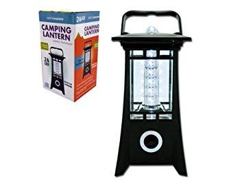 【中古】bulk buys LED Camping Tower Lantern Black by bulk buys