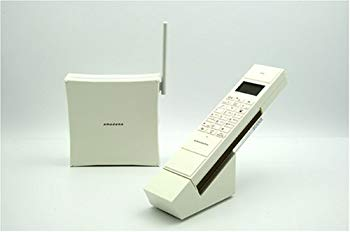 【中古】コードレス電話機 PT-308 ホワイト