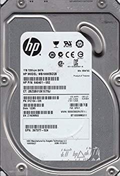【中古】st1000nm0011、z1?N、kratsg、PN 9yz164???035、FW hpg1、HP 1tb SATA 3.5ハードドライブ