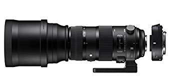 中古 SIGMA 超望遠ズームレンズ Sports 150-600mm F5-6.3 フルサイズ対応 OS キヤノン用 テレコンバーターキット DG おすすめ WEB限定 HSM