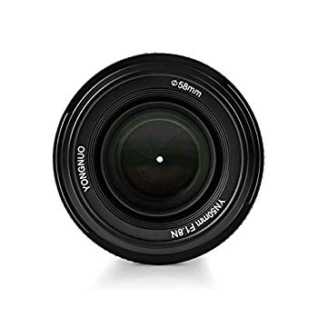【中古】Yongnuo ヨンヌオ YN EF 50mm f/1.8 AF 単焦点 レンズ for Nikon 大口径 オートフォーカス D800 D300 D300S D700 D600 D5000 D5100 D5200 D5300