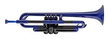 【中古】pInstruments ピーインストゥルメンツ プラスチック製管楽器 トランペット pTrumpet ブルー PTRUMPET1B 【国内正規品】