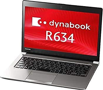 【中古】【中古】 ダイナブック dynabook R634/L PR634LAA637AD71 / Core i5 4300U(1.9GHz) / SSD:128GB / 13.3インチ / シルバー