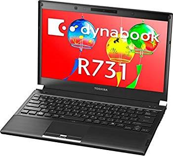 【中古】【中古】 ダイナブック dynabook R731/D PR731DAANRBA51 / Core i5 2520M(2.5GHz) / HDD:250GB / 13.3インチ / ブラック