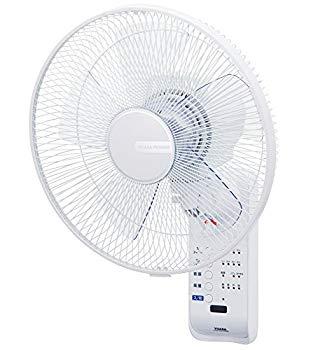 【中古】リモコン式壁掛け扇風機(微風/8時間オートオフタイマー) 直径30cm/5枚羽根[壁掛扇風機/壁掛け扇/サーキュレーター/送風機] ユアサ(YUASA) YTW-38