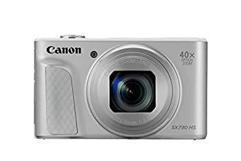 【中古】Canon コンパクトデジタルカメラ PowerShot SX730 HS シルバー 光学40倍ズーム PSSX730HS(SL)