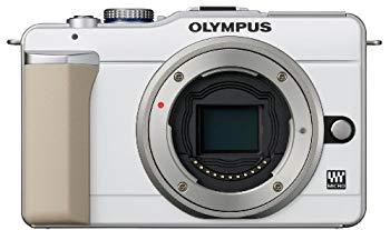 【中古】OLYMPUS ミラーレス一眼 PEN E-PL1ボディ ホワイト E-PL1 BODY WHT