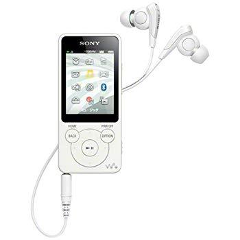 【中古】SONY ウォークマン Sシリーズ 8GB ホワイト NW-S784/W