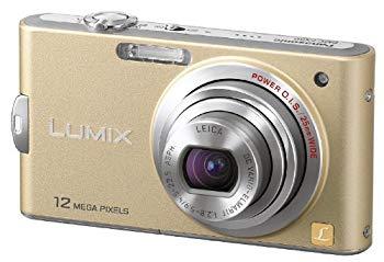 【中古】パナソニック デジタルカメラ LUMIX (ルミックス) FX60 リュクスゴールド DMC-FX60-N