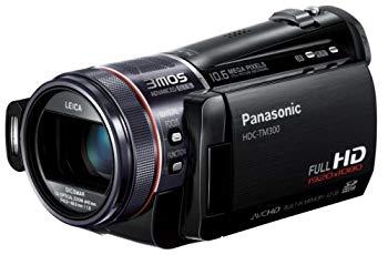【中古】パナソニック デジタルハイビジョンビデオカメラ ブラック HDC-TM300-K