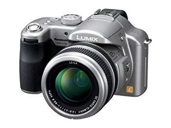 【中古】パナソニック デジタルカメラ LUMIX FZ50 チタンシルバー DMC-FZ50-S