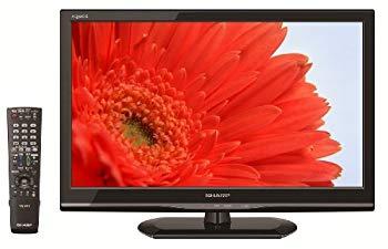 【中古】シャープ 22V型 液晶 テレビ AQUOS LC-22K90-B フルハイビジョン HDD(外付) 2013年モデル