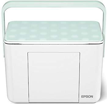【中古】EPSON Colorio me コンパクトプリンター E-350G グリーンモデル