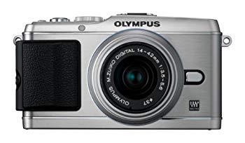 【中古】OLYMPUS ミラーレス一眼 PEN E-P3 レンズキット シルバー E-P3 LKIT SLV