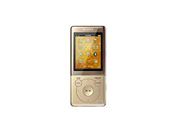 【中古】SONY ウォークマン Sシリーズ [メモリータイプ] 8GB ゴールド NW-S774/N
